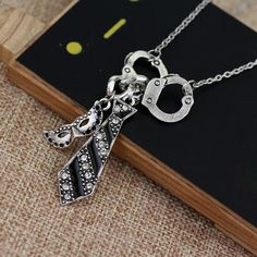 Christian Necklace - Fifty Shades Of Grey Darker Freed Christian Charm Necklace
