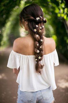 Pretty Wedding Hairstyles for Long Locks - MODwedding