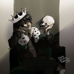 Nico: 'I AM THE GHOSTKING!!!' Will: 'Aww Neeks, you're do cuuuute.' Nico: <<< He looks like a mix of Sherlock and Moriarty.