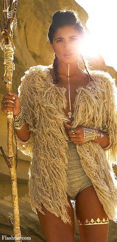Flash Tatoo's 'Desert Dweller Of Wild Child' — Très Haute Diva