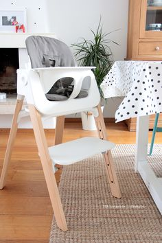 Perfectly fits your baby & decor. Stokke Steps High Chair