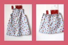 Upcycling - neuer Rock aus altem Kleid - neuer Stoff, DIY Anleitung, tutorial, Nähanleitung, aus Mädchenkleid Rock nähen, zu kleines Kleid