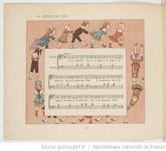 Vieilles chansons et rondes pour les petits enfants, notées avec des accompagnements faciles / par Ch. M. Widor ; Illustrations de M. Boutet de Monvel - 24