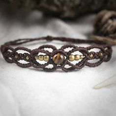 Filigree Fairy Macrame Bracelet Tribal Ethno