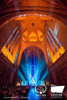 An AzAmazing Evening at Liverpool Cathedral with @azamaravoyages Quest. #cruiseliverpool #itsliverpool