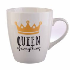 """Formations """"Queen of Everything"""" Jumbo Mug"""