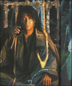 Masaharu Fukuyama as Hiko Seijuro - Rurouni Kenshin live action movies.