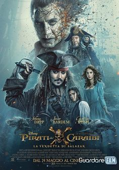 Pirati dei Caraibi 5: La vendetta di Salazar Streaming/Download (2017) ITA Gratis | Guardarefilm: http://www.guardarefilm.biz/streaming-film/9285-pirati-dei-caraibi-5-la-vendetta-di-salazar-2017.html