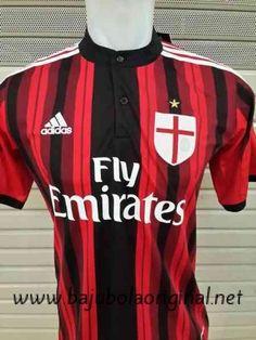 1e45b23a3 Bajubolaoriginal.net jual Jersey Ac Milan Home 2014-2015 Grade Ori murah    bergaransi