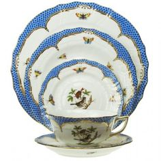Beautiful, highly patterned porcelain may be more expensive, especially if it is hand-painted. However, with a breakfast service, you can purchase fewer pieces. Have your muffin and eat it too.