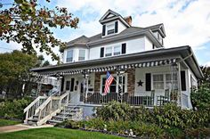 Seashore living at its finest! 2 blocks to the beach 2 blocks to Sunset Bay. This early 1900s home has it all. From the charming character of years past to todays amenities.  The Grand front porch, classical arched doorways, original wood work, built in book shelves and custom benches are just a hint of the times!  Utilities have been upgraded including the electric, the plumbing, the roof and many other items. Through the front door you will find a quaint parlor entrance, large living room…