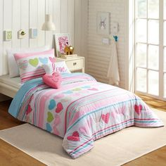 You'll love the Glen 4 Piece Twin Comforter Set at Wayfair - Great Deals on all Bed & Bath products with Free Shipping on most stuff, even the big stuff.