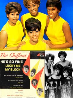 "The Chiffons first single, ""He's So Fine"" released in 1963, shot all the way to #1 in the United States."