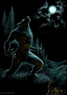 Howl of the Werewolf by Paul Mudie
