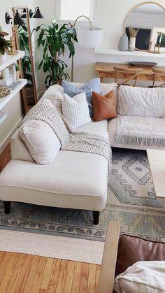Boho Living Room, Living Room Modern, Room Decor Bedroom, Interior Design Living Room, Living Room Designs, Small Living, Barn Living, Boho Room, Cozy Living