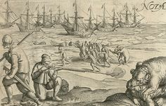 Richard Hakluyt Voyages - Google Search Archaeological Finds, West Indies, Sailors, 17th Century, The Dreamers, Renaissance, Knitted Hats, Vintage World Maps, Nova