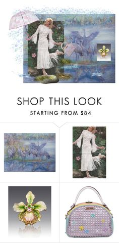 """""""I'm singing in the rain"""" by canisartstudio ❤ liked on Polyvore featuring Jay Strongwater, Nicole Lee and Vera Bradley"""