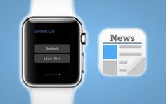 Newsify Feed Reader App now offers Apple Watch support