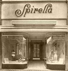 Spirella's London shop 1952