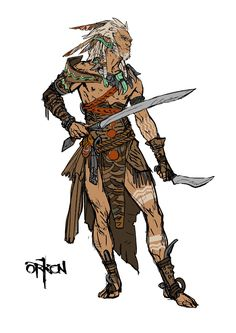 Pin by ryan dunagan on fantasy art character design, character art, charact Fantasy Races, Fantasy Warrior, Fantasy Rpg, Medieval Fantasy, Warrior High, High Fantasy, Fantasy Character Design, Character Design Inspiration, Character Concept