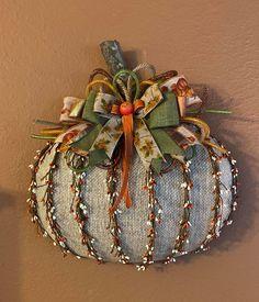 Dollar Tree Pumpkins, Dollar Tree Crafts, Fall Mason Jars, Mason Jar Crafts, Diy Wreath, Wreath Making, Wreath Ideas, Fall Crafts, Diy Crafts