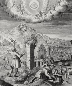 Phillip Medhurst presents Bowyer Bible print 3573 Lay up treasure in heaven Matthew 6:19-21 Passeri on Flickr. A print from the Bowyer Bible, a grangerised copy of Macklin's Bible in Bolton Museum and Archives, England.