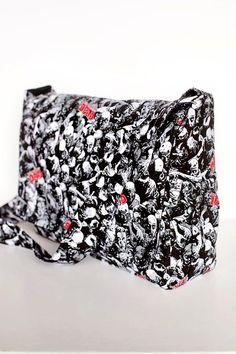 Punk Rock Walking Dead Diaper Bag Ready to ship by RockerByeBaby