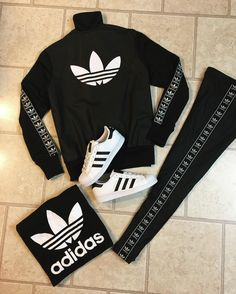 OOTD - Adidas original tracksuit, matching trefoil Adidas shirt & Adidas Superstar shell toes ⭐️💯🔥💣 Thanks to @theclosetinc and @sherm_washington for always hookin' a sista up with the best heat in town!! ❤ #theclosetinc #teamcloset #adidas #superstars #shelltoeaddidas #adidasoriginals #adidastracksuit #adidastrefoil #outfitoftheday #matchinggameonpoint @adidasoriginals