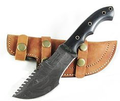 Special Offers - Moorhaus Handmade Twist Damascus G10 Black & Tan Tracker Knife With Serrated Upper Spine - In stock & Free Shipping. You can save more money! Check It (August 14 2016 at 06:30PM) >> http://foldingsurvivalknife.net/moorhaus-handmade-twist-damascus-g10-black-tan-tracker-knife-with-serrated-upper-spine/