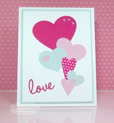 Stamping with a Passion!: Inlaid Hearts Tutorial