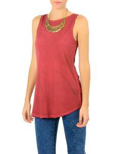 #Camiseta tirantes Double Agent. También en verde y gris. 8,99€ en www.doubleagent.es #ropa #moda #tendencias