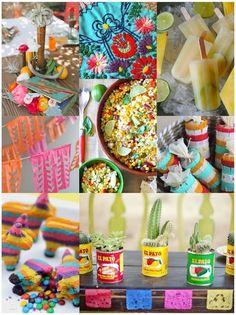 A round up of DIYs & Recipes for your Cinco De Mayo fiesta!