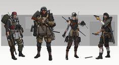 Character Concept, Character Art, Character Inspiration, Concept Art, Character Design, Cyberpunk Character, Cyberpunk Art, Bird People, Sci Fi Characters