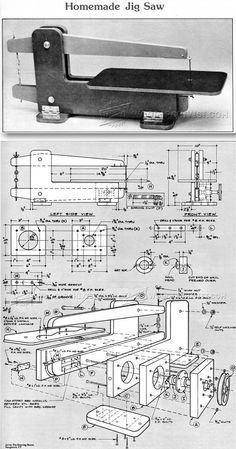 HomeMade Scroll Saw Plans - Scroll Saw Tips, Jigs and Fixtures   WoodArchivist.com