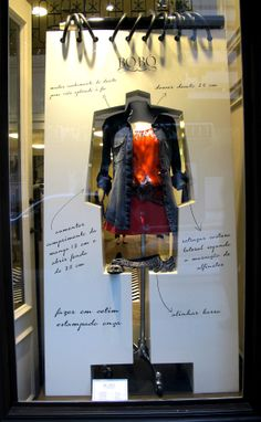 "Bo.Bó, Sao Paulo, Brazil, ""My Fashion Notebook"", pinned by Ton van der Veer #visual #merchandising #window #display #product #retail #shopping"