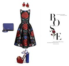 """""""Untitled #22"""" by shushu13 ❤ liked on Polyvore featuring Chi Chi, Kate Spade, Gucci and Dolce&Gabbana"""