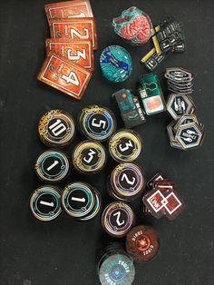 My own designed tokens for Netrunner