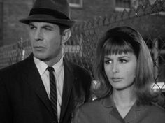 "Leonard Nimoy and Marianna Hill from The Outer Limits ""I, Robot"" 1964"