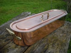 Vintage French Copper Clad and Cast by NormandyKitchen on Etsy, €110.00