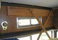 installing an overhead bed - scissor bunk