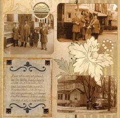 Scrapbooking a Heritage Album ~ Eniko's Playhouse