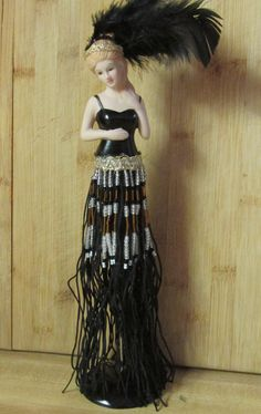 Black beauty Tassel Doll made from a kit