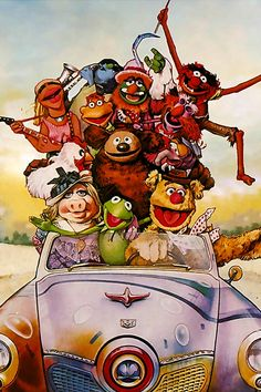 [The Muppets Movie] Long before Disney ruined the Muppets (and Star Wars, and Pixar…), master blaster Jim Henson struck studio stardust coupling a self-absorbed Hollywood hopeful with a swampy banjo picker. Fire Breathing Dragon, Miss Piggy, Handsome Prince, Guys And Dolls, Jim Henson, A New Hope, Fairy Godmother, First Dates, Kermit