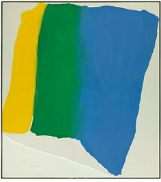 Summer Insignia, 20th century. Acrylic on canvas. 241.3 x 216.4 cm