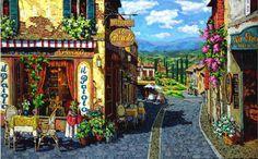 Summer In Tuscany Viktor Shvaiko