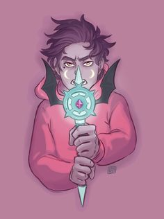 I like how spooky Marco's wand look !