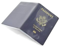 Passport Cover Clear Plastic Vinyl ID Card Protector Case Pack of 5 * You can get additional details at the image link.