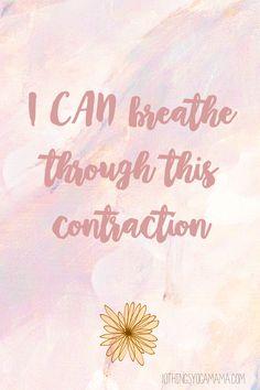 12 Positive Birth Affirmations