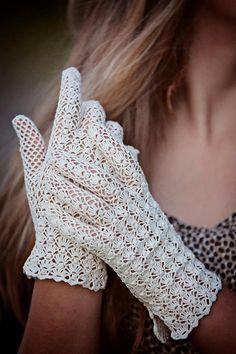 Vintage Style Crochet Lace Popcorn Stitch by WillowFairyJewelry, $46.00