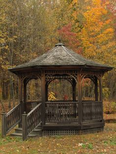Gazebo - This would be my outdoor studio in summer.                                                                                                                                                                                 More
